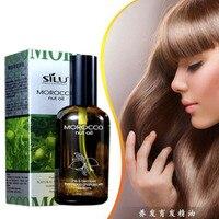 Pure Natural Morocco Argan Hair Oil Serum Damaged Hair Oil Repair Treatment For All Hair Types