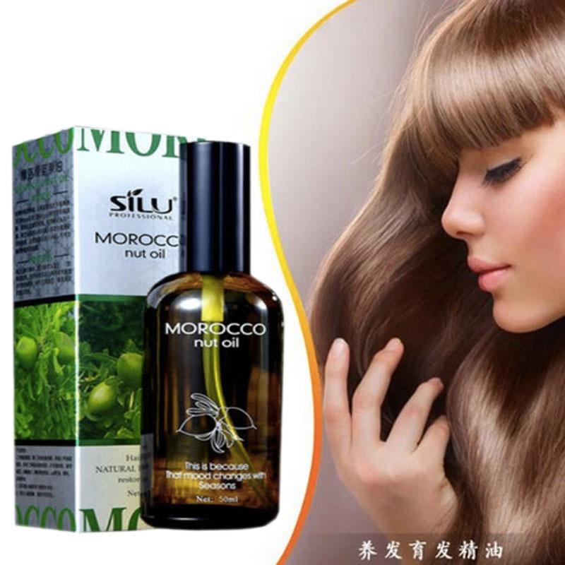 New Natural Morocco Argan Hair Oil Essence Serum Damaged