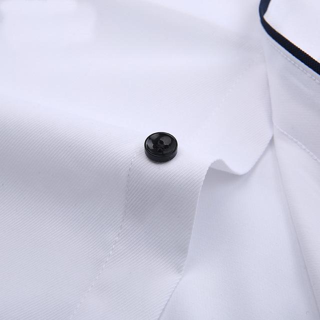 Dudalina Camisa Male Shirts Long Sleeve Men Shirt Brand Clothing Casual Slim Fit Camisa Social Striped Masculina Chemise Homme