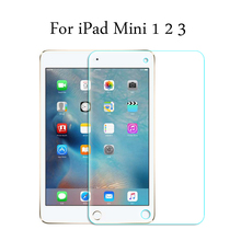 9H HD Tempered Glass membrane For Apple iPad Mini 1 / 2 / 3 Screen Protector Film For iPad Mini1 / Mini2 / Mini3 9h hd tempered glass membrane for ipad 2 ipad 3 ipad 4 screen protector film for ipad2 ipad3 ipad4