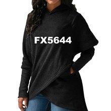 2018 Новая мода Собака Paw Print Толстовки женские свитера Для женщин Забавный узор толстые Street Пуловеры укороченные