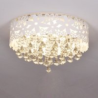 Stainless Steel Piece Hanging Crystal Ceiling Light Modern Free Shipping Crystals Living Room Dining Room Ceiling