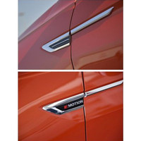 AOSRRUN Car Accessories Car Styling 4PCS ABS Outer Side Fender Front Door Cover Trim For Volkswagen