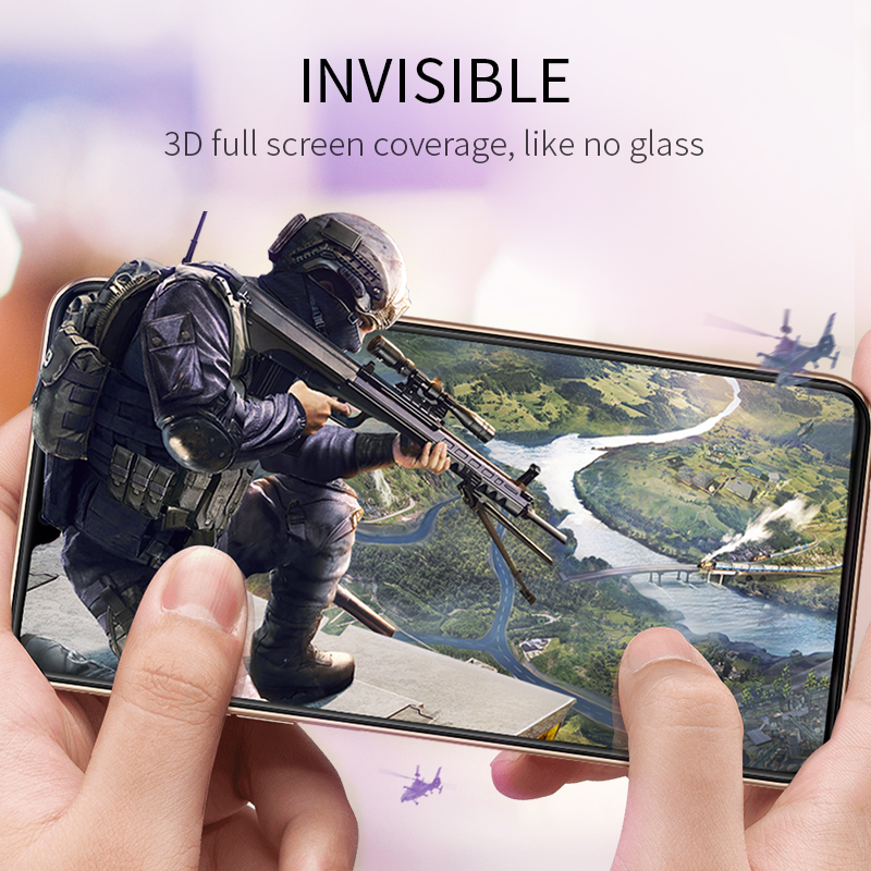 Image 5 - HOCO 3D Protective Glass for iPhone 7 8 plus X XR Xs on iPhone 11 Pro Max Screen Protector Full Cover Glass for iPhone xs max-in Phone Screen Protectors from Cellphones & Telecommunications on