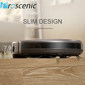 Image 4 - Proscenic 811GB Robotic Vacuum Cleaner Low Noise Slim Design Electric Control Water Tank Robot Aspirador with Boundary Magnetic