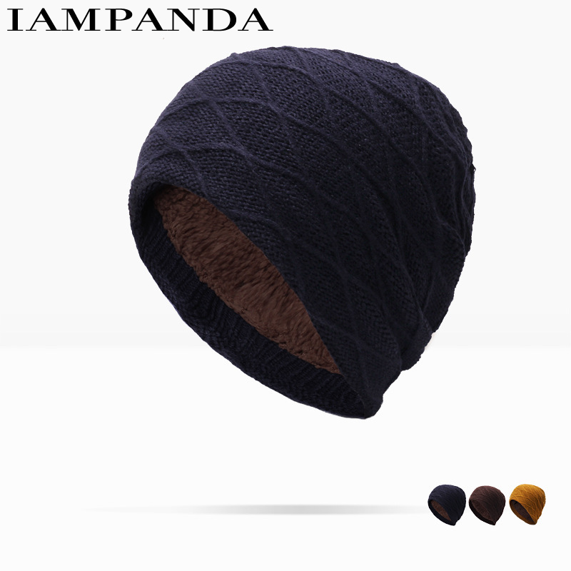 2017 Hot Sale Dot Autumn And Winter New Pattern Korean Fashion Male Set Head Cap Woman Knitting Hat Keep Warm Hats Customized