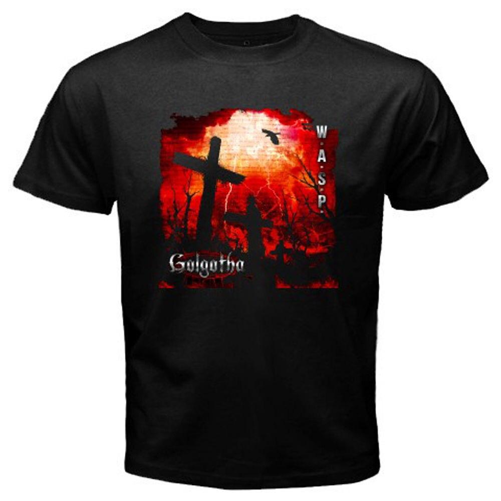 Gothic Summer Street Tide Brand New W.A.S.P. Golgotha Album Rock Band Legend MenS T Shirt