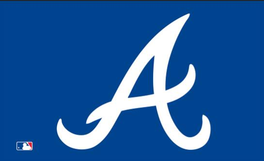 Atlanta Braves logo banner custom sports MLB flag, size 3x5FT baseball team banner free shipping