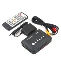 1Pcs 1080P HD SD MMC TV Videos SD MMC RMVB MP3 Multi TV USB HDMI Media