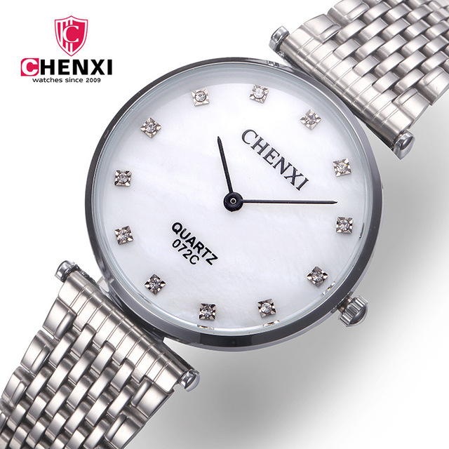 Chenxi Brand Watches Men Woman Reloj Hombre Fashion Luxury Quartz Wristwatches 2