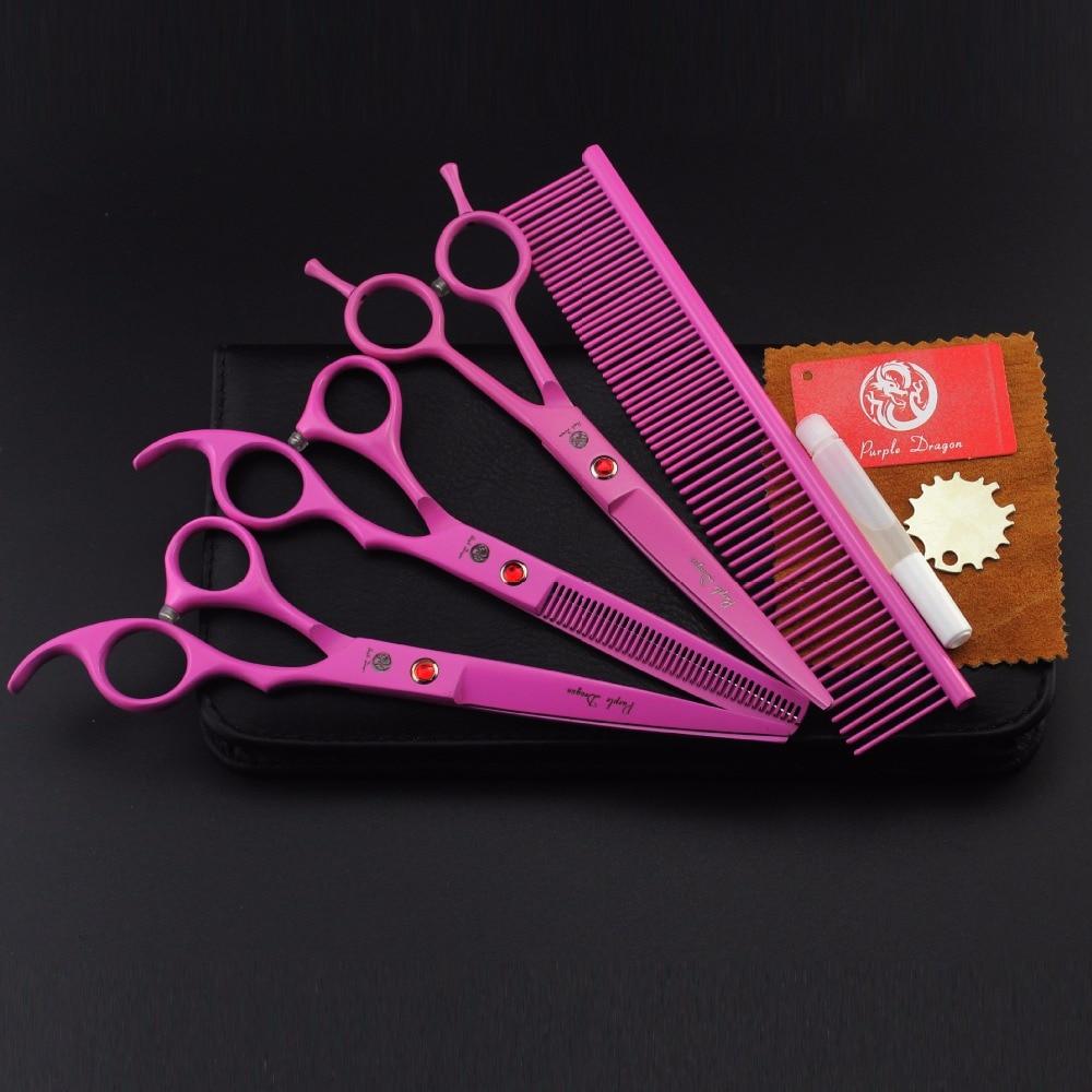 סגול דרקון 7 אינץ חיתוך & THINNING & CURVED - טיפוח השיער וסטיילינג