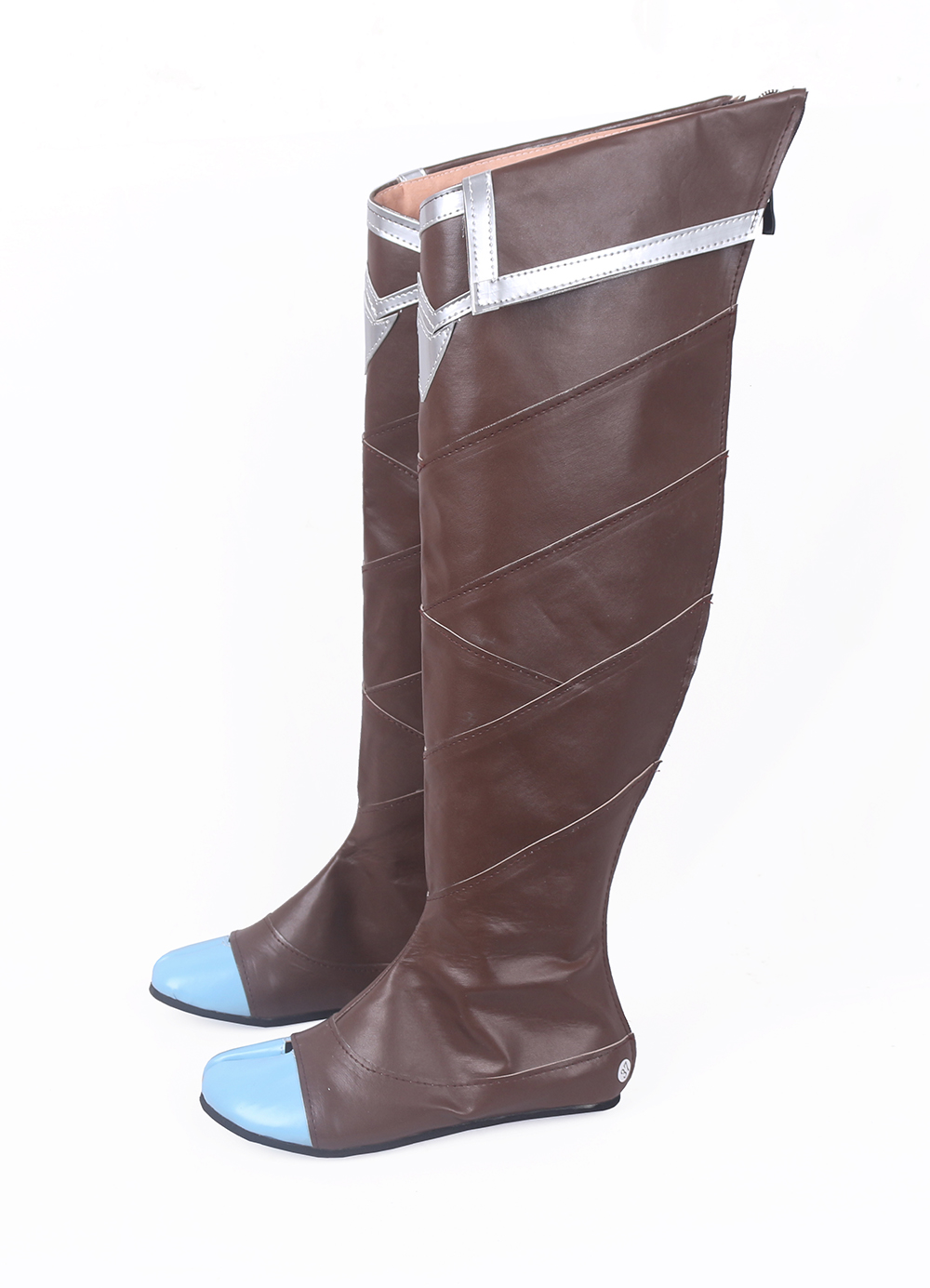 LOL Xayah The Rebel Cosplay Long Boots Shoes (3)