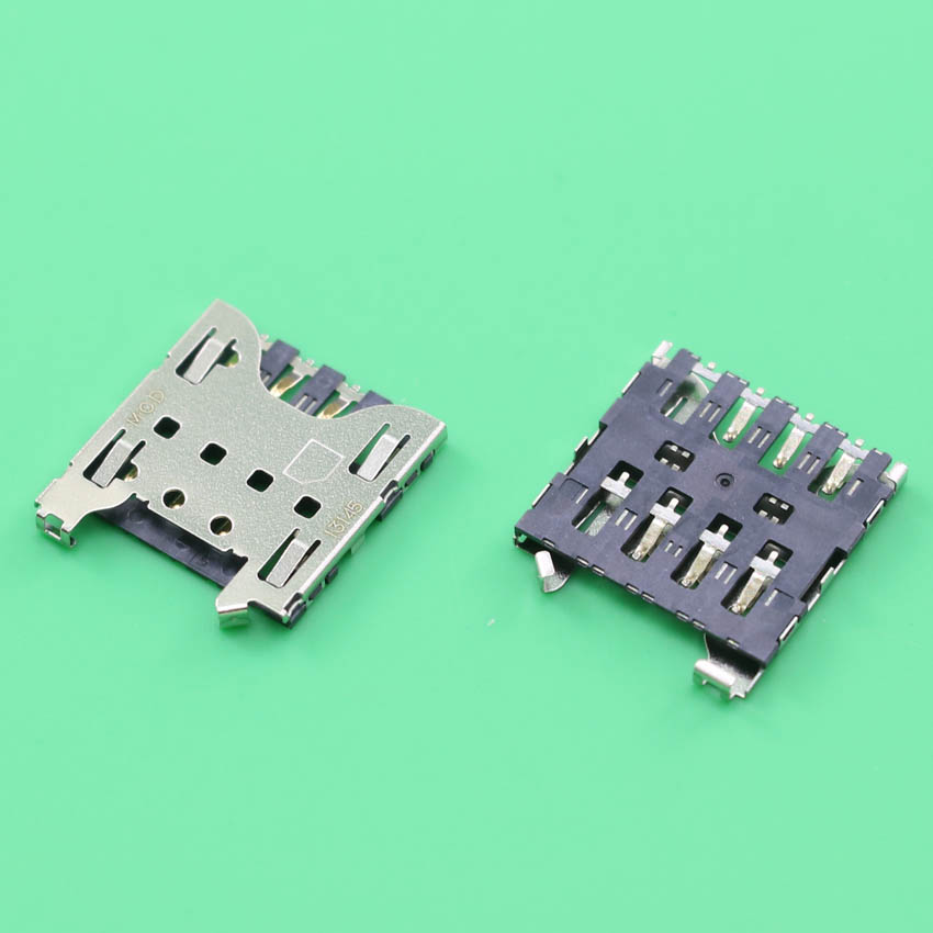 YuXi 2pcs/lot New Sim Card Reader Connector Holder Tray Slot Socket for Blackberry Z10 Q10