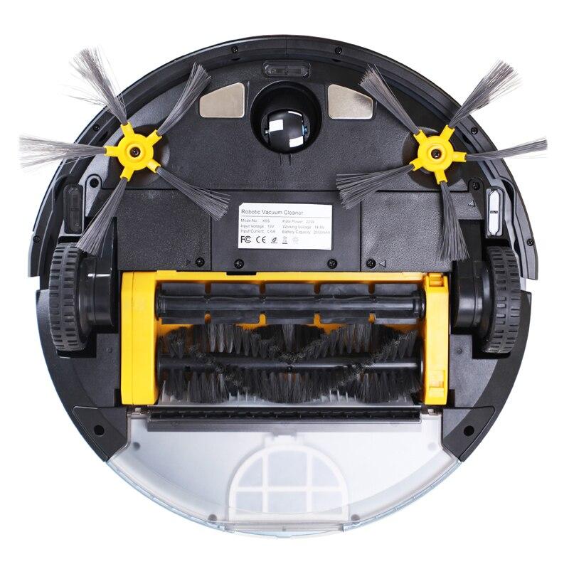 LIECTROUX Roboter Staubsauger X5S Zickzack Reinigung Geplant Typ WIFI App Control Wasser Tank Wet & Dry Reinigung Selbst Aufladen