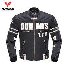 DUHAN мотоциклетная куртка Мужская дышащая гоночная куртка для езды Jaqueta MotoqueiroMotorbike куртка защитное снаряжение