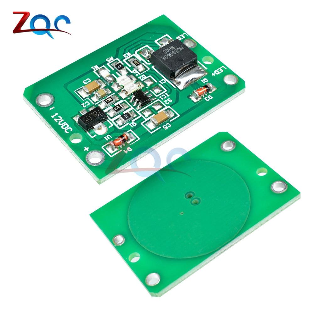 12 V Kapazitive Touch Schalter Sensor Modul Push-taste Berühren Schlüssel Modul Jog Latch Mit Relais Dc 6-20 V 3a Neueste Technik
