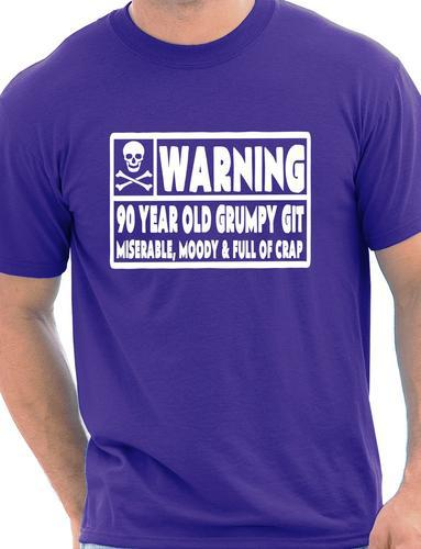 90 Year Old Git Mens Funny 90th Birthday Gift Fathers Day T Shirt More Size And Colors In Shirts From Clothing On Aliexpress