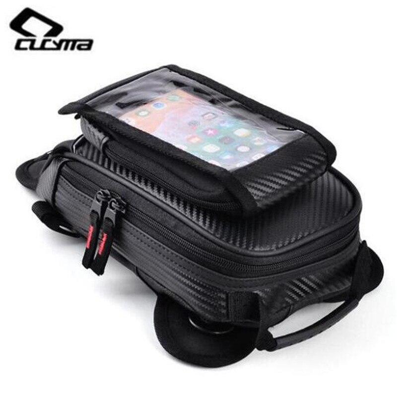 CUCYMA Motorcycle Leg Bag Mobile Phone Navigation Multifunction Casual Waist Baggage Thigh Bags