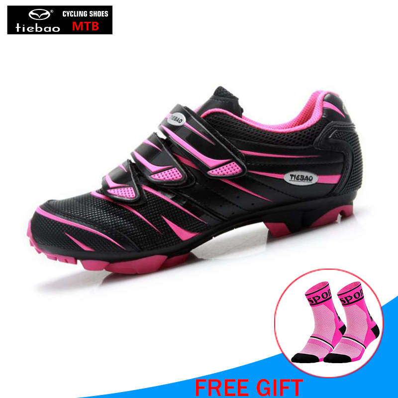 TIEBAO women pink cycling shoes zapatos ciclismo hombre bike shoe sapatilha ciclismo mtb off road superstar racing bike shoesTIEBAO women pink cycling shoes zapatos ciclismo hombre bike shoe sapatilha ciclismo mtb off road superstar racing bike shoes