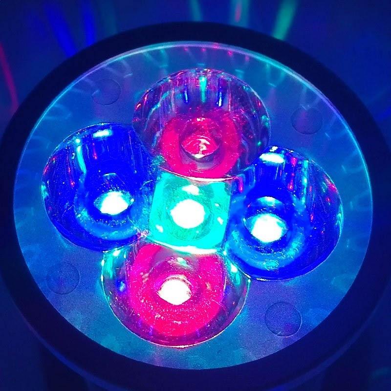 Toxum fidanları üçün tam spektral E27 GU10 E14 LED böyümə - Professional işıqlandırma məhsulları - Fotoqrafiya 3