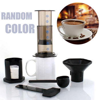 Filter Coffee Espresso Maker French Press Coffee Pot For AeroPress Machine New