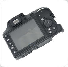 Original Rear Back Cover unit for Nikon D3300 with LCD Screen,Flex cable,Button Assembly Camera Repair Part