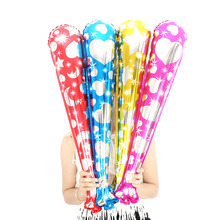 1pc 79cm Inflatable Cheering Sticks Long Balloon Cheers Bar Refueling Strip For Concert Football Fans Cheerleading Props