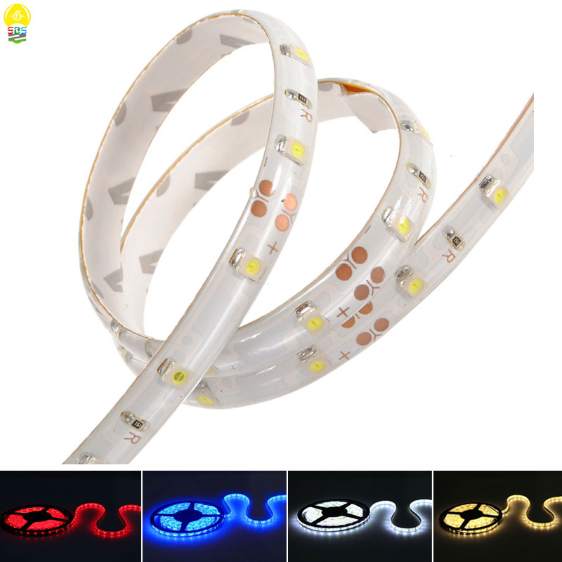 Christmas Decoration Corlorful LED Strip Light DC12V 5M 3528 SMD Flexible Waterproof LED Tape Lamp 60 LEDs/M Red Blue White