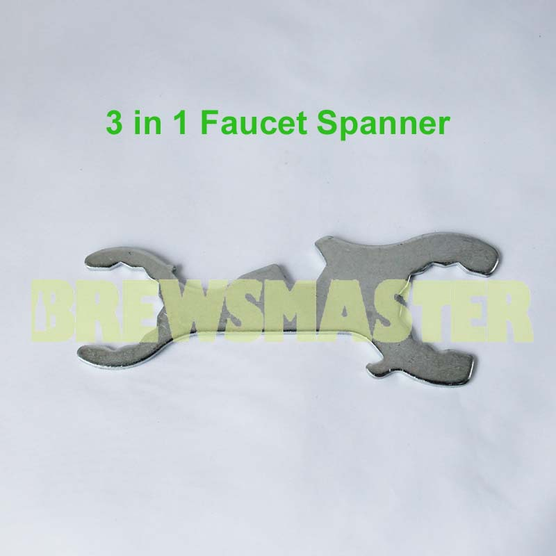 3 in 1 Faucet Spanner, Font Fix and Repair Kits,for home brewing on ...