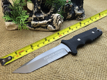 2016NEW OEM MTech TY-8071 Hunting Fixed Knife With 5Cr13Mov ABS Handle Survival Outdoor Knife Camping Multi Knives Tool