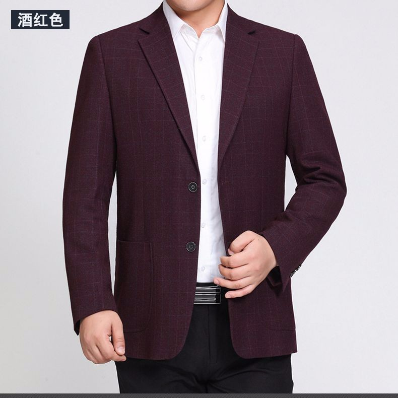 Man Paid Basic Blazer Gray Black Navy Blue Red Suit Jackets Men Casual Blazers Business Office Outfits Short Slim Fit Suit Blazers 2016 (15)