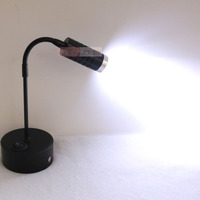 Charger LED Spotlight lights small cabinet lamp display cabinet light creative black single heads Spotlight lamp SD66 LU1019|display cabinet lighting|cabinet small|led spotlight -