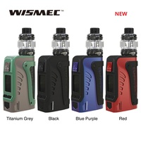 Original WISMEC Reuleaux Tinker2 200W TC Kit with Trough Tank 2ml/6.5ml fit WT Coil Electronic Cigarette Vape Vaporizer