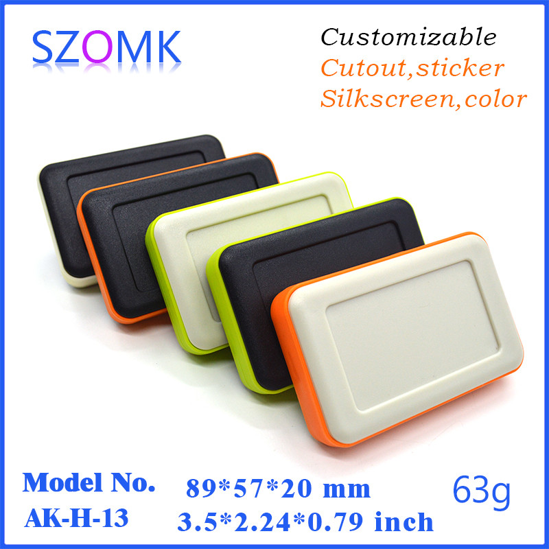1 piece beauty plastic handheld case electrical power abs plastic enclosure used to GPS tracker 89