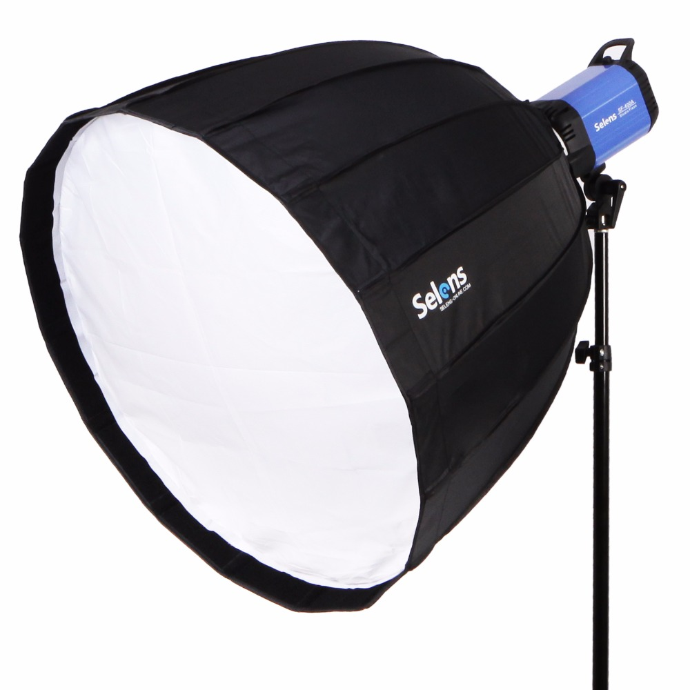 Portable 90cm Hexadecagon Photo Studio Softbox Umbrella for Speedlite Flash light Photography foldable quick setup 90cm photo studio hexadecagon umbrella softbox reflector for flash speedlight photography lighting