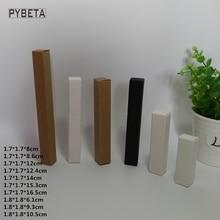 100pcs ריק קראפט תיבת נייר לבן נייר שחור נייר אייליינר עט שפתון מתנת אריזת קופסות