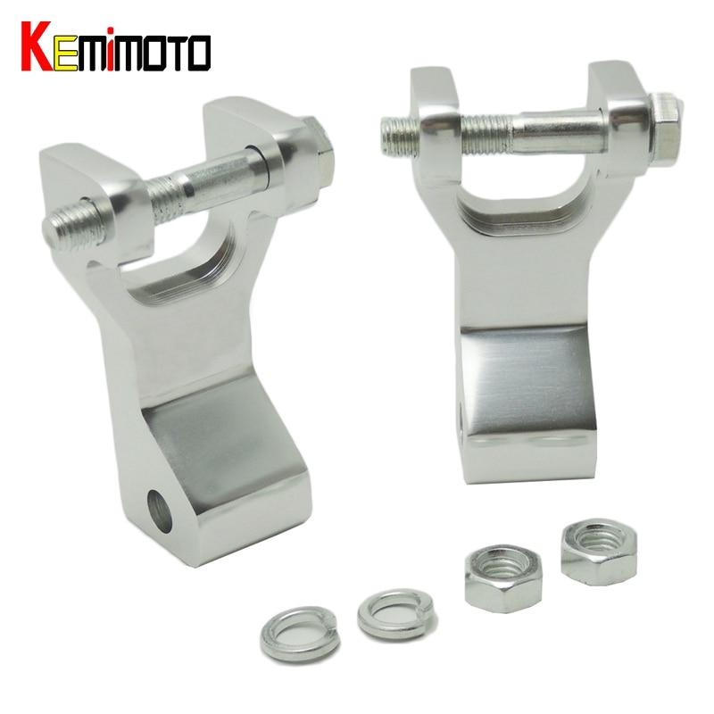 KEMiMOTO Aluminium ATV Vorne Senkung Kit für Yamaha Raptor 350 Raptor660 Blaster Krieger Silber Raptor350 Raptor 660 Link