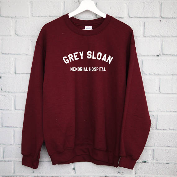 Grey Sloan Memorial Hospital Sweatshirt, It's A Beautiful Day To Save Lives Shirt, Greys, Greys Anatomy Fan, Greys Anatomy-D524