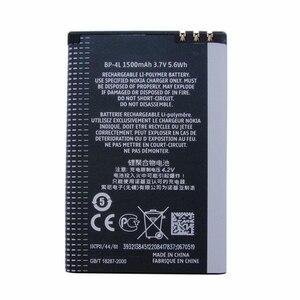 Image 2 - Dinto 1pc 1500mAh BP 4L BP4L BP 4L 리튬 이온 충전식 Nokia E61i E63 E90 N810 E72 E52 E71 6650F