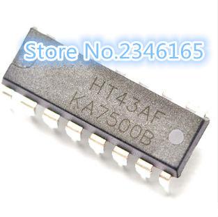 10PCS KA7500B DIP-16 new and original switching power supply control chip IC CJ