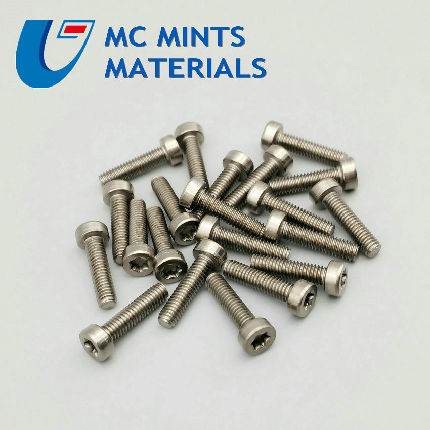 12pcs M4 x6-20mm Ti Bolt Titanium Bolt Column Torx Head Original Ti Color Not Polished Grade 2 Titanium Screw Ti Fastener цены