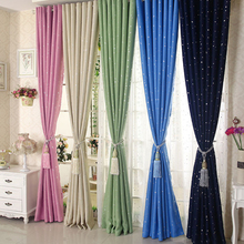 2 Pcs Blackout Curtains Kids Room Drapes for Bedroom Window Treatment Blinds Living the