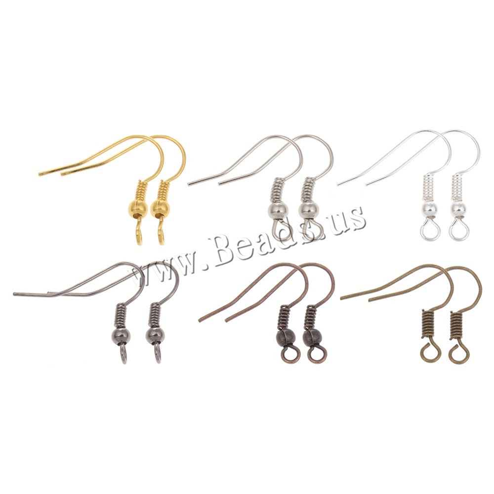 Hook Earwire New Fashion Plated More Colors For Choice Nickel Lead Cadmium Free 20x17x1mm Hole Rox 1mm 100pcs Bag Sold By