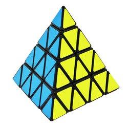 Lefun Master Pyramid Magic Cube Black Cubo Magico Twist Puzzle Educational Toy Gift Idea Puzzle Education Toys for Children