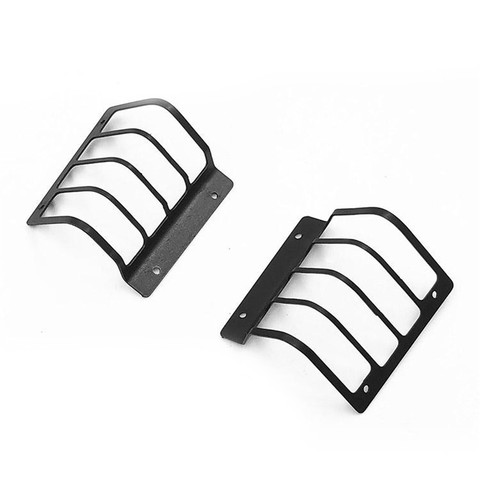 Decorative Metal Tail Light Guard For 1/10 Range Rover Classic Body RC Parts Accessories DIY Upgrade Parts Pakistan