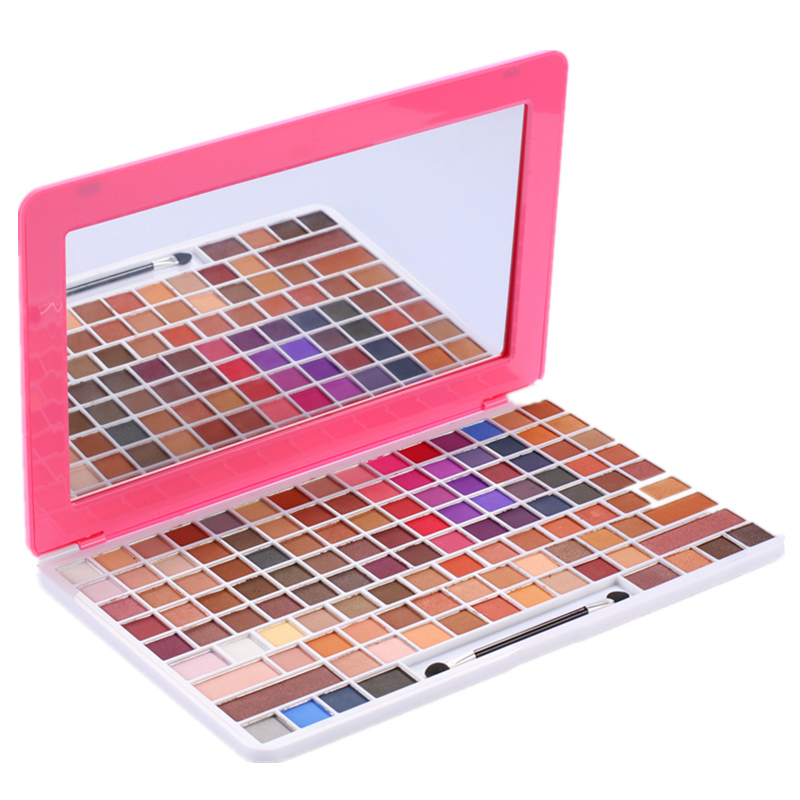 Nouvelle qualité supérieure 121 couleurs kit de maquillage, cosmétiques Mode set, diamant perle couleurs style, Mat Perle couleurs style fard à paupières pattl