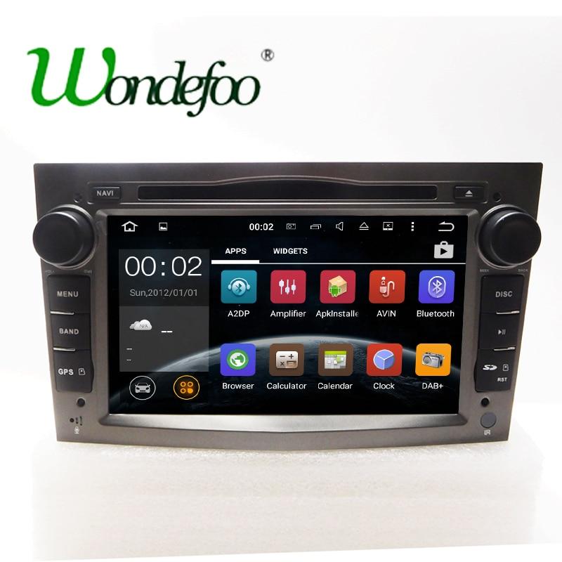 imágenes para Android 7.1 Quad core RAM 2G/1G pantalla 2 DIN Coche DVD GPS Radio estéreo Para Vauxhall Opel Vectra Zafira Antara Corsa Astra H G J