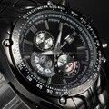 Novo 2016 Curren horas Sports Watch homens Relógios de Quartzo relógio de Luxo Vestido de pulso Casual relógio Data homem de aço completo relógio