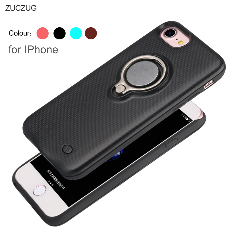 watch 2f448 fdc35 ZUCZUG Magnetic Battery Charger Case for iPhone 7 7plus 6S 6 Plus 6G ...