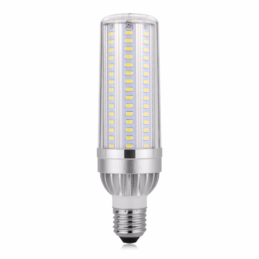 Aluminum More Bright LED Bulb Corn Lamp E27 105 129 153leds High Power No Flicker E26 SMD5730 Energy saving lights 25W 35W 45W smart bulb e27 7w led bulb energy saving lamp color changeable smart bulb led lighting for iphone android home bedroom lighitng